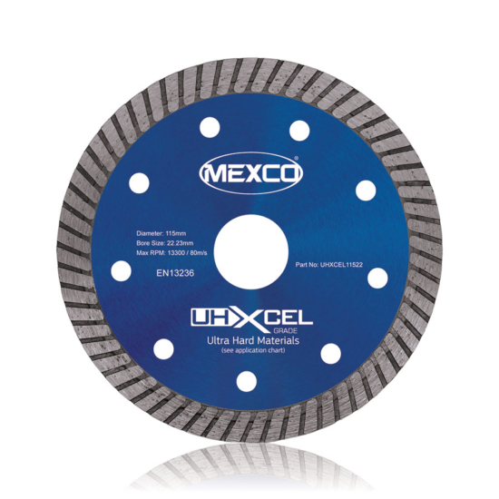 UHXCEL Ultra Hard Materials Diamond Blade