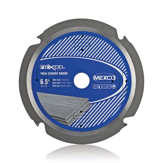 FBXCEL 185mm Fibre Cement Board Blade