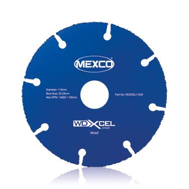 WDXCEL 115mm Wood Cut Blade