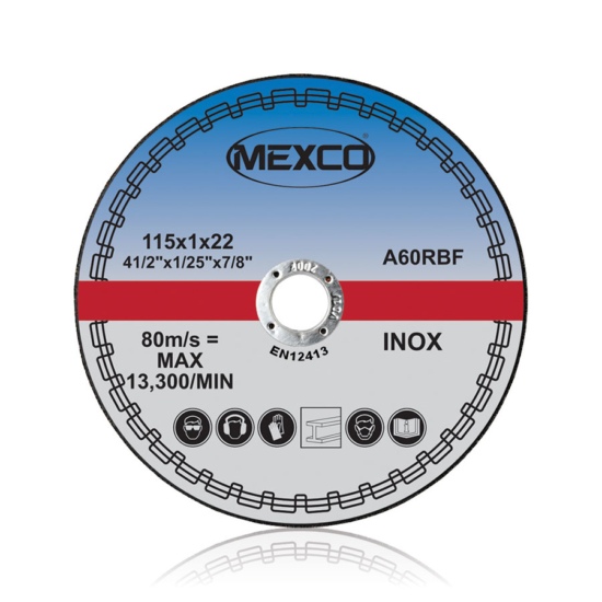 115mm Inox Cutting Abrasive Wheel