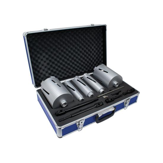 DCX90 11 Piece Dry Core Drill Kit