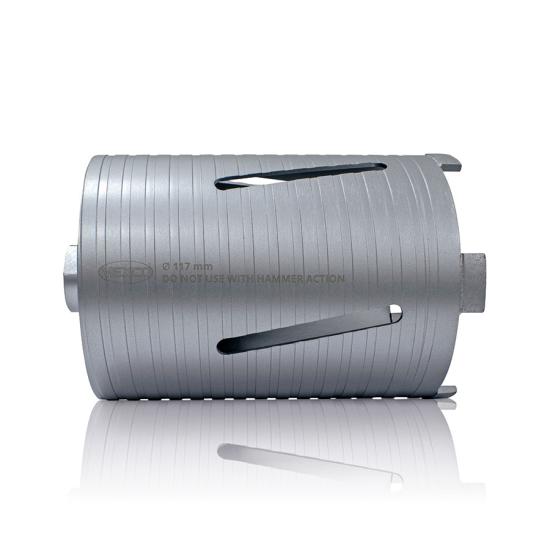 DCX90 117mm Slotted Diamond Core Drill