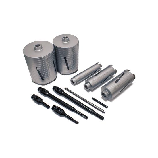 DCX90 11pc Core Drill Kit Parts