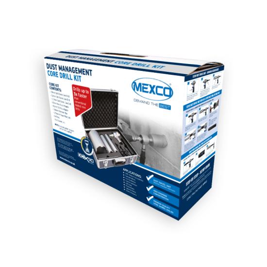 DCX90 Dust Swivel Core Kit Packaging