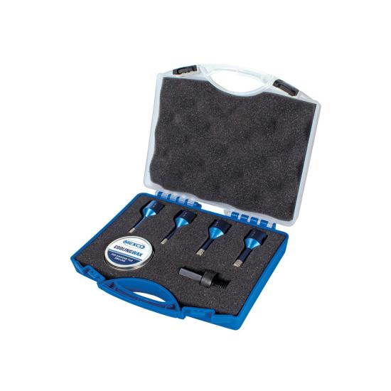 Wax Filled Diamond Tile Drill Bit Kit