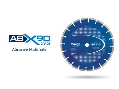 ABX90 Abrasive Materials Diamond Blade Video