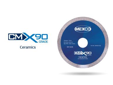 CMX90 Ceramics Diamond Blade Video