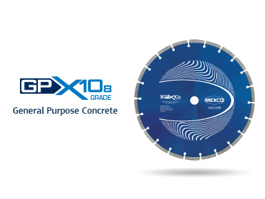 GPX10-8 General Purpose Concrete Diamond Blade Video