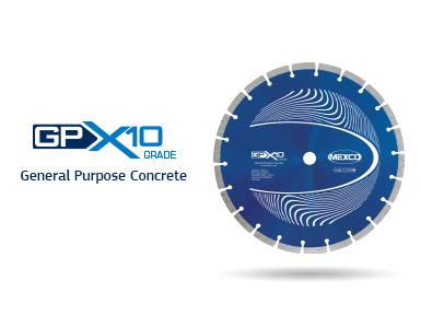 GPX10 General Purpose Concrete Diamond Blade Video