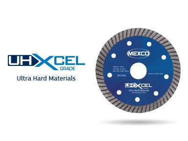 UHXCEL Ultra Hard Materials Diamond Blade Video