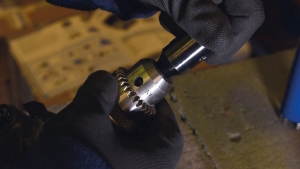 Dry Core Drill Step 1