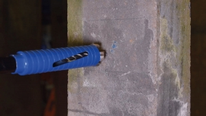 Dry Core Drill Step 4