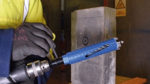 Dry Core Drill Step 6