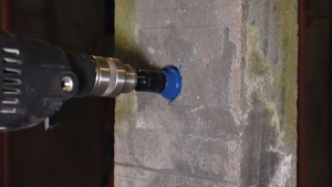 Dry Core Drill Step 9